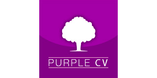Purple CV logo